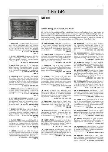 80 free Magazines from SCHULERAUKTIONEN.CH