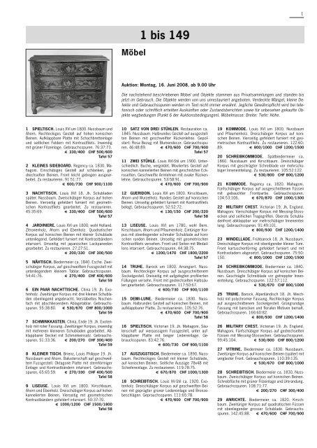 Jugendstil/ Art Déco/Design - Schuler Auktionen