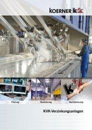 KVK-Verzinkungsanlagen - Koerner