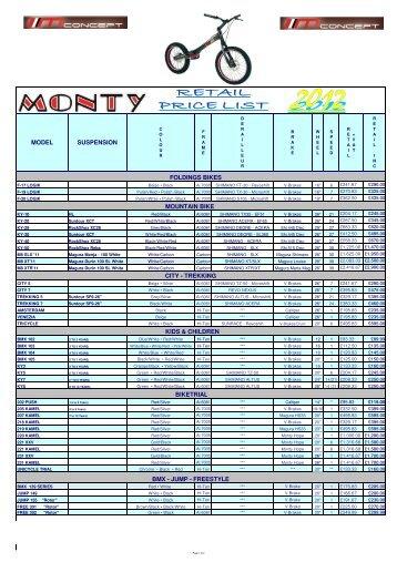 Monty 2012 Retail Price List.002.xlsx - Malcolm Rathmell Sports