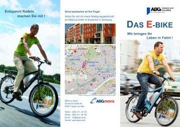 DAS E-BIKE Wir bringen Ihr Leben in Fahrt - Frankfurt am Main