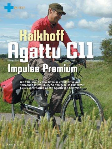 Kalkhoff Agattu C11 - Electric Bike Magazine