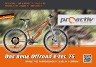 Das neue Offroad e-tec 7S - PRO ACTIV Reha-Technik