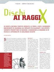 X AI RAGGI Dischi - Alveria bike noto