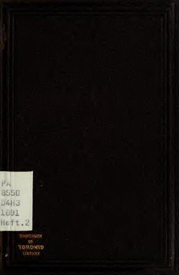 Declamationes. Ausgewählt und hrsg. von Karl Hartfelder - Index of
