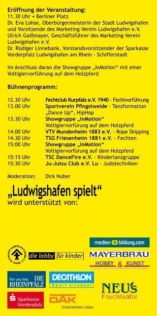 """""""Ludwigshafen spielt"""""""