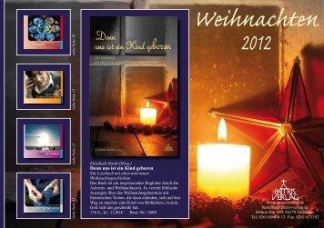 Weihnachten 2012 - Patris Verlag Gmbh