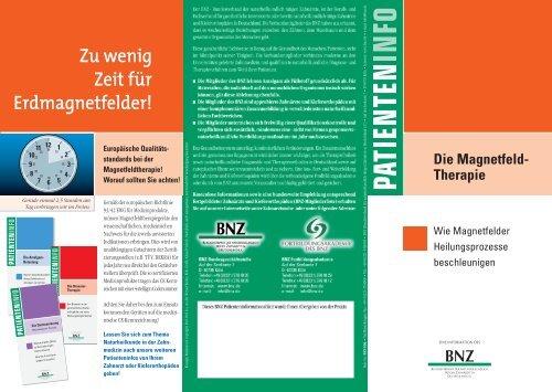 Die Magnetfeld - BNZ