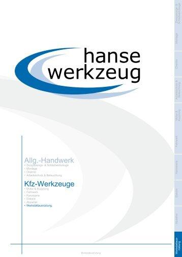 NEU - hansewerkzeug