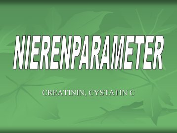Creatinin - Medizinisches Labor 08-11′s Blog