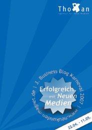 Erfolgreich mit Neuen Medien - Thoxan GmbH