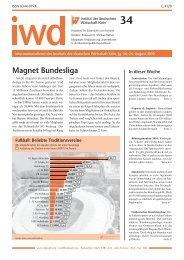 Magnet Bundesliga - Institut der deutschen Wirtschaft Köln