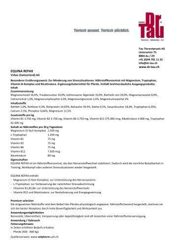 Weitere Informationen zum Produkt - Dr. Tau Dr. Tau