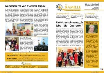 Kamille-Adventbasar - hoffmannpark.at