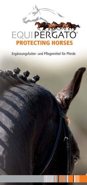 und Pflegemittel für Pferde - Equipergato