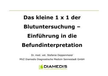 Klinische Chemie - MVZ Diamedis Diagnostische Medizin ...