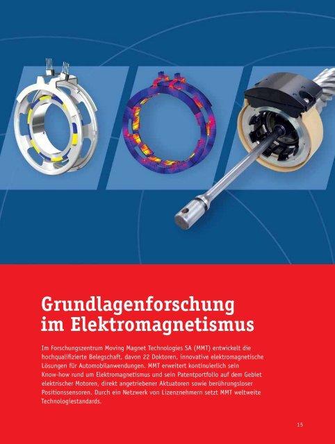 Grundlagenforschung im Elektromagnetismus - Moving Magnet ...