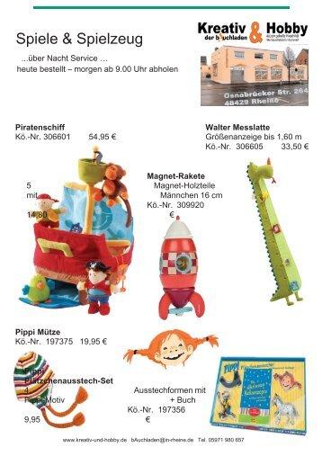 Katalog Spiele und Puzzle - Kreativ & Hobby