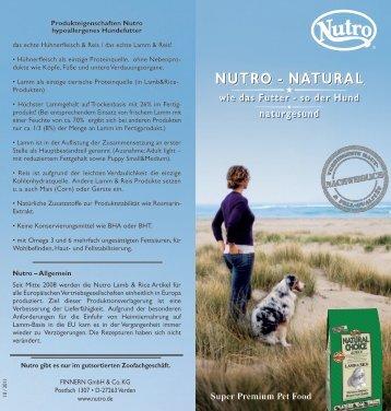 Nutro folder_aussen - Zooplus