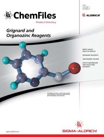 Grignard and Organozinc Reagents - Sigma-Aldrich