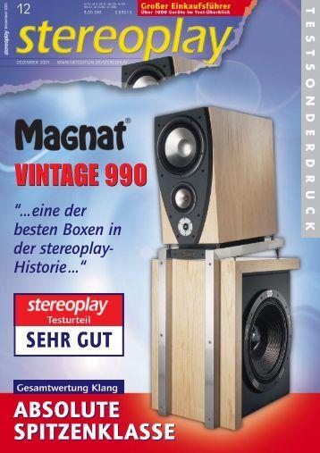 Magnat Vintage 990 A4 - MagnatMuseuM