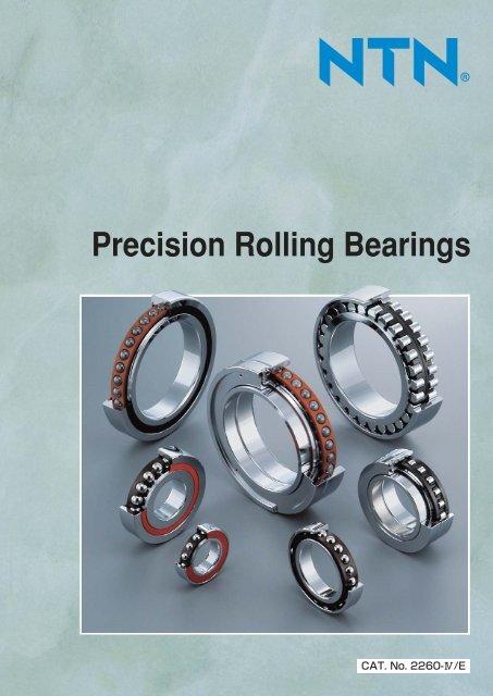 Precision Rolling Bearings - NTN Bearing Corporation of America