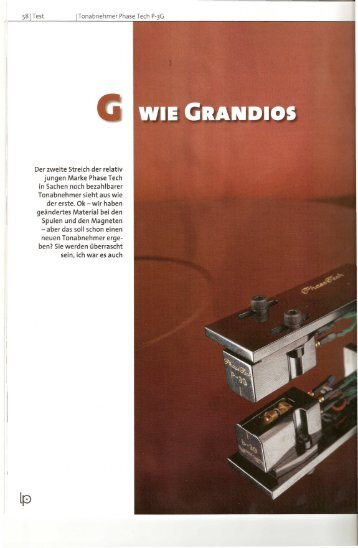 "Test in der ""LP"" Nr.6 2008 (Pdf - AXISS Europe"