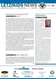 Ausgabe Nr. 1, April 08 - FC Zürich