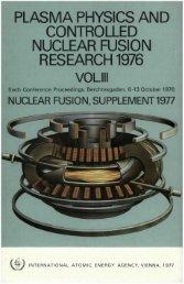 I v - Nuclear Sciences and Applications - IAEA