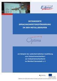 Ausbildung Industriemechaniker/Industriemechanikerin - Werkhof ...