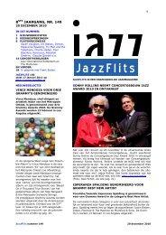 jazz op papier - JazzFlits