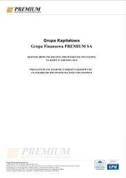 Skonsolidowane sprawozdanie finansowe za 2010 r. grupy ...