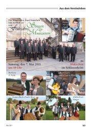 Singen Musizieren - Männerchor Arget-Sauerlach
