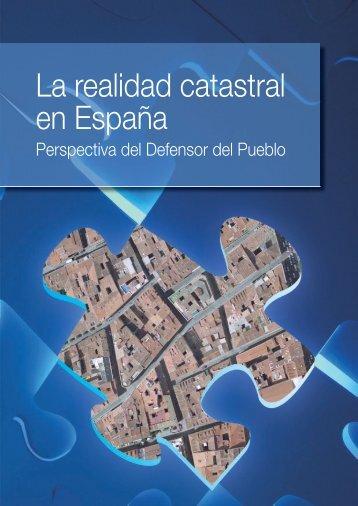 La realidad catastral en España - Defensor del Pueblo