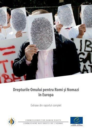Drepturile Omului pentru Romi şi Nomazi în Europa