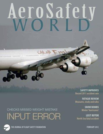 AeroSafety World February 2012 - Flight Safety Foundation
