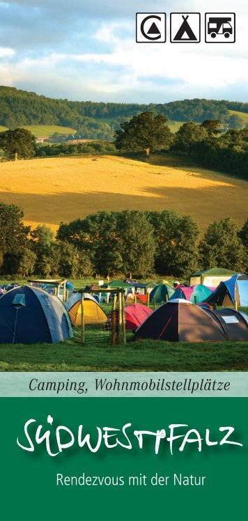 Camping, Wohnmobilstellplätze falz - Südwestpfalz Touristik