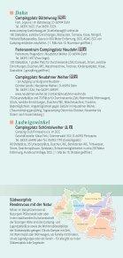 Camping, Wohnmobilstellplätze falz - Südwestpfalz Touristik - Page 2