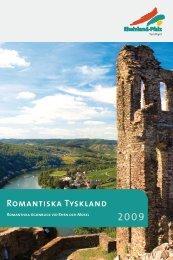Romantiska Tyskland 2009 - Tourismusnetzwerk Rheinland-Pfalz ...