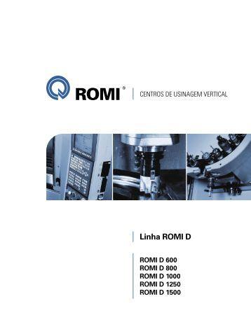 Catálogo Linha Romi D