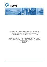 Manual de Abordagens e Cuidados Preventivos com Máquinas - Romi