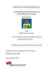 3.1 Physikalische Grundlagen - Institut für Elektrische Anlagen