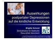 Postpartale Depression der Mutter - Wiener Programm für ...