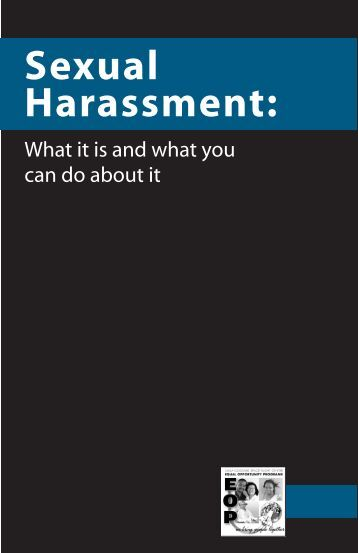report on sexual harassment picket