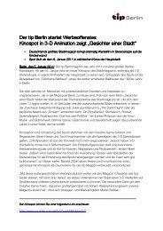 Pressemitteilung_Final_ 3-D Kinospot tip_Anne ... - Tip Berlin