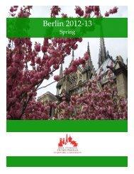 berlin orientation folder -spring 2013.pdf - Bing Overseas Studies ...