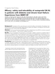 Efficacy, safety and tolerability of metoprolol CR/XL in ... - jirivitovec.cz