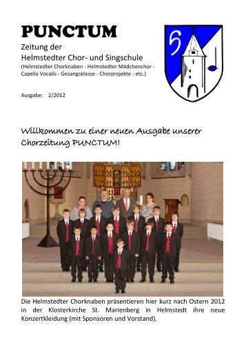 PUNCTUM - Helmstedter Chorknaben