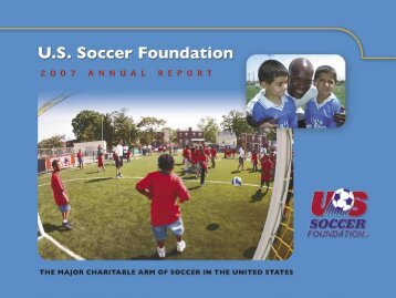 Annual Grants Program/Striker - US Soccer Foundation