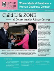 Child Life ZONE - Denver Health Foundation